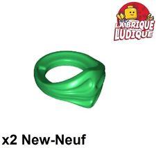 Lego - 2x Minifig foulard Bandana Ninja vert/green 15619 NEUF