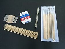 Gundam Model Tools Painting Set: Brushes,Palettes, OOAK Tools, Archival Ink