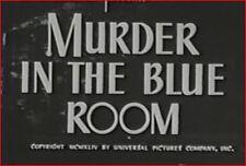MURDER IN THE BLUE ROOM 1944 Mystery Thriller w/Anne Gwynne, Donald Cook