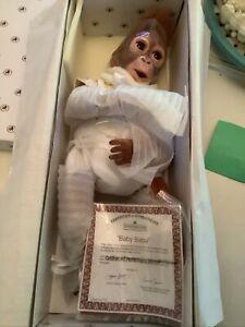 Ashton Drake Baby Babu New In Box Baby Monkey Doll