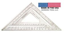 Johnson 12in Professional Aluminum Rafter Angle Square RAS-120 MADE in USA