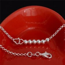 Heart Beach Holiday Jewellery Bridesmaid A Genuine Sterling Silver Anklet Beads