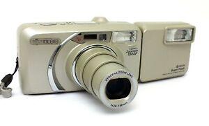 ✮ Yashica Kyocera Zoomate 150 EF mit 38-150mm Objektiv + Blitz //  vom Händler!