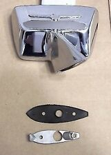 1964 - 1966 Ford Thunderbird New Chrome Exterior Rear View Mirror Right Door RH