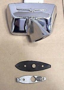 1964 - 1966 Ford Thunderbird New Chrome Exterior Rear View Mirror Right Door RH