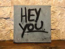 """Hey You"" Original Pop Art Painting By Texas Artist (2018)"