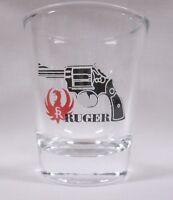 Rugger Guns on Clear Shot Glass