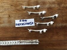 6 DASCHUND Metal Knive Rests Teckel Wiener Dog Dinner Party Dog Lover 🐶 Animal