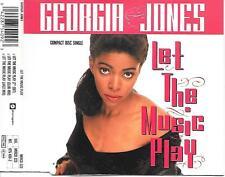 GEORGIA JONES - Let the music play CDM 3TR House UK 1990 (Phonogram)