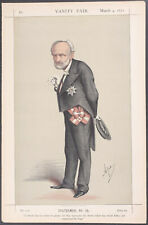 Vanity Fair - The Chevalier Charles Cadorna. 121 - 1871 - Colored Lithograph