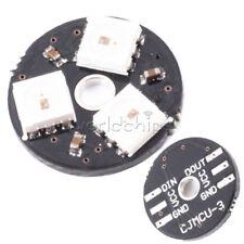 WS2812 3Bit 5V 5050 RGB LED Lamp Panel Development Board Round for Arduino
