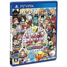 Itadaki Street Dragon Quest Final Fantasy 30 PS Vita SONY PLAYSTATION JAPANESE