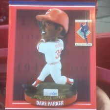 Dave Parker Cincinnati Reds HOF Bobblehead #5 in Series