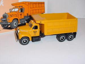 1/34 First Gear Diecast CP Ward Mack B-Model Dump Truck W/Box!