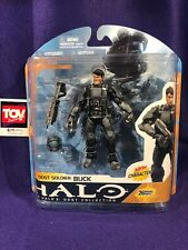 McFarlane Toys Xbox 3 ODST Collection Soldier BUCK Action Figure MOC