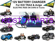 12 Volt Charger Kid Trax Avigo Ride on Cars with Large Blue Anderson Plug