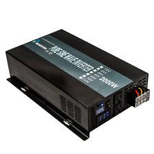 12V 24V 36V 48V to 120V/220V 60HZ 2000W Pure Sine Wave Solar Power Inverter