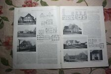 1916 Zentralblatt 93 / Kaiser Wilhelm Kanal Hochdonn Holtenau Schülp Rendsburg