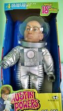 "Austin Powers 18"" Moon Mission Mini Me Talking Figure McFarlane Toys 2000 New!"