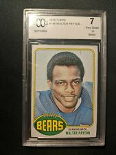 *** 1976 Topps #148 WALTER PAYTON RC ROOKIE BCCG 7 Beckett   ***
