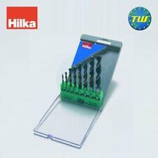 Hilka 8pc Madera Plástico Broca aburrido Set 3mm 4mm 5mm 6mm 7mm 8mm 9mm 10mm hágalo usted mismo
