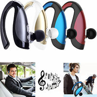 Wireless Earpiece A2DP Bluetooth Headphone Stereo HD Headset For Samsung HTC LG