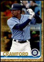 J.P. Crawford 2019 Topps Update 5x7 Gold #US177 /10 Mariners