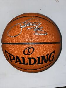 Paul George Signed NBA Basketball Ball LA Los Angeles Clippers with silver ink
