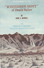Tonopah, Goldfield, Rhyolite, Bullfrog, Death Valley -- RARE info on 1906 mines