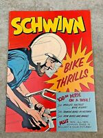 "Schwinn ""Bicycle Thrills"" 1959 Publication w/ factory tour, Speed record, more.."