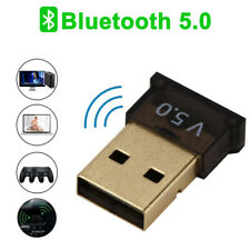 USB bluetooth 5.0 Wireless Dongle Adapter Adapter Stereo Receiver PC Real 5.0!