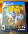 Destroy All Humans (PlayStation 4 2020) PS4 - New - SEALED - Fast Shipping