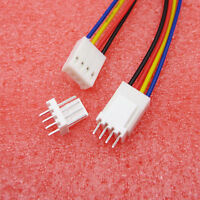 20/50PCS NEW XH2.54-4P Connect Cable 2.54mm Single Tin Header Wire Length 15cm