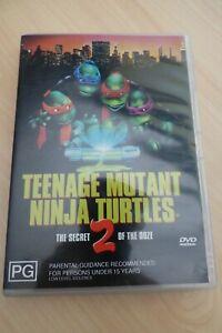 Teenage Mutant Ninja Turtles 2 Secret of the Ooze  DVD Region 4