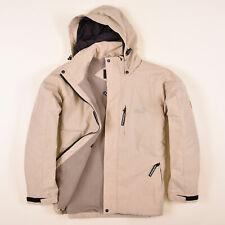 Jack Wolfskin Herren Jacke Jacket Winterjacke Gr.S Fleece-Futter Beige 84891