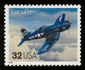 #3142g 32c Corsair, Mint **ANY 5=FREE SHIPPING**