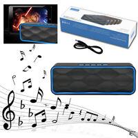 LOUD Dual Wireless Bluetooth Speaker Waterproof Outdoor Stereo Bass USB/TF/FM