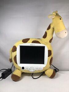 "RARE  Hannspree Plush Giraffe TV Kids Room 9.6"" LCD - No Remote TESTED"
