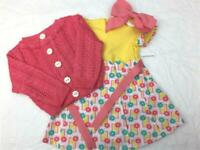 American Girl Kit Photographer Outfit~Dress~Sweater/Cardigan~Hair bow~never worn