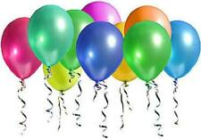 """100pk Assorted Latex 10"""" Balloons Birthday Party Decorations Supplies"""