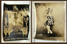 1920s Wood Sisters publicity photos (New York vaudeville)