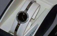 "New womens  Ladie's Movado 0606595 Bela 0605853 ""0.40ct.aprx.Diamond Watch."