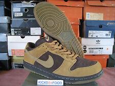2003 Nike Dunk SB Brown Pack 10.5 SB Forbes Wheat Paul Brown Tweed Hunter Pro jp