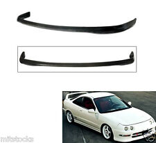 2 X 94-97 ACURA INTEGRA 2 4 DOOR TYPE R PU BLACK ADD-ON FRONT BUMPER LIP SPOILER