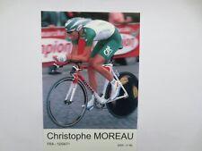 wielerkaart 2003 team credit agricole christophe moreau
