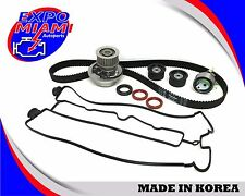 Gates Timing Belt Kit Water Pump Valve Cover Gasket For Suzuki Forenza Reno