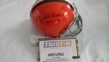 Dante Lavelli Cleveland Browns Autographed Mini Helmet Tristar COA