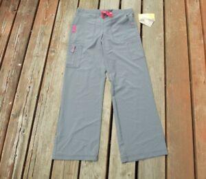 Carhartt Force Cross Flex Gray Scrub Pants Women's Size Regular New W/Tags