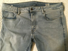 Mens G STAR RAW JEANS Light Blue. size 40x32 denim stretches