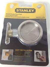 Stanley National S849-075 Pull Pocket Door Privacy Satin Nickel New Seald